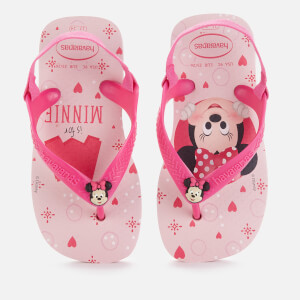 Havaianas Toddlers' Disney Classics II - Minnie Flip Flops - Crystal Rose