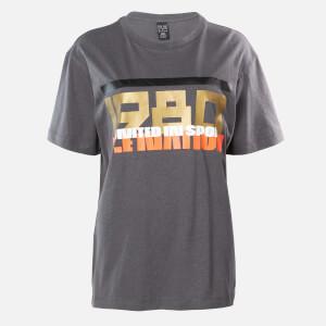 P.E Nation Women's Full Court T-Shirt - Dark Grey