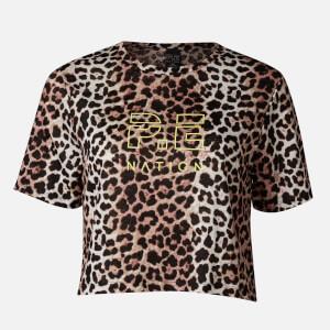 P.E Nation Women's Bar Down T-Shirt - Leopard