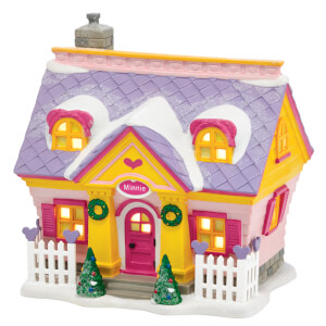 Disney Village Minnie's House - UK Adaptor 15cm