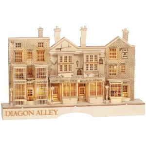Harry Potter Village Diagon Alley Lit Centrepiece
