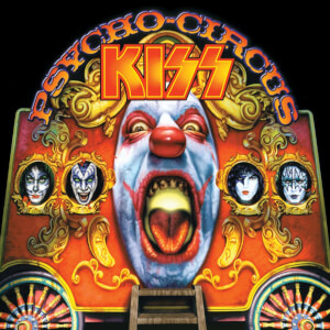 KISS - Psycho Circus (With 3D Lenticular Cover) LP