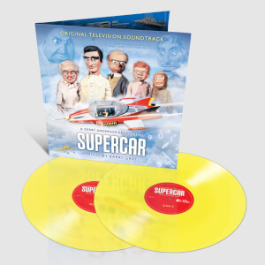 Supercar Original Television Soundtrack 2 x Colour LP