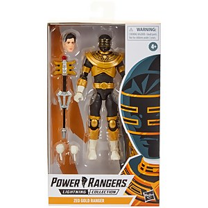 Hasbro Power Rangers Lightning Collection Mighty Morphin Gold Ranger 6-Inch Premium Collectible Action Figure