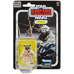 Hasbro Star Wars The Black Series Yoda Toy Action Figure