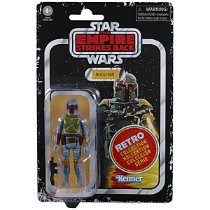 Action Figure Boba Fett Toy -  Hasbro Star Wars Retro Collection