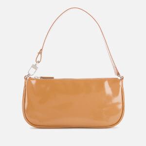 by FAR Women's Rachel Tan Semi Patent Leather Bag - Tan