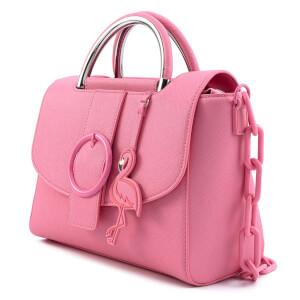 Loungefly Pool Party Flamingo Chunky Chain Crossbody Bag