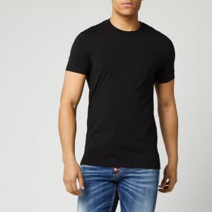 Dsquared2 Men's Square Arm Patch T-Shirt - Black