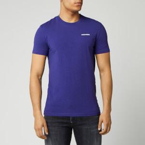 Dsquared2 Men's Chest Logo Melange T-Shirt - Deep Purple