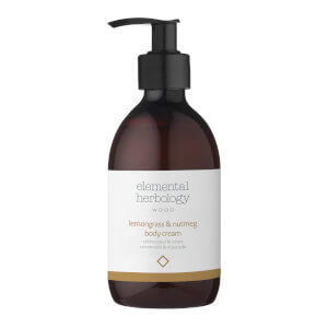 Elemental Herbology Lemongrass and Nutmeg Body Cream 290ml