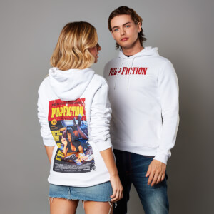 Pulp Fiction Unisex Hoodie - White