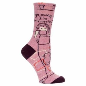 Go Away I'm Introverting - Women's Socks