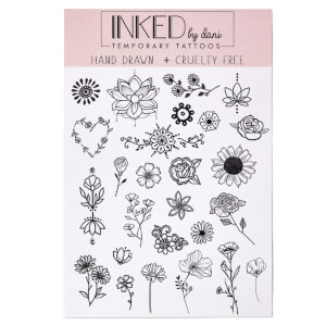 INKED by Dani Flower Child Temporary Tattoos