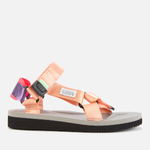 Suicoke Women's Depa Cab Nylon Sandals - Pink/Grey