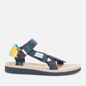 Suicoke Women's Depa Cab Nylon Sandals - Navy/Tan