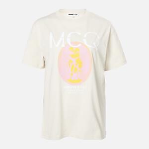 McQ Alexander McQueen Women's Boyfriend T-Shirt - Grey Rain
