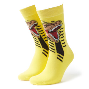 Men's Jurassic World Socks - Yellow