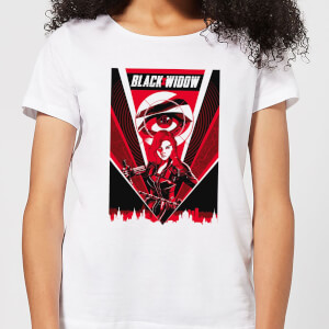 T-Shirt Black Widow Red Lightning - Bianco - Donna