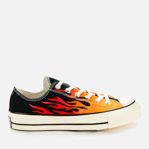 Converse Men's Chuck Taylor All Star 70 Ox Trainers - Black/Enamel Red/Egret
