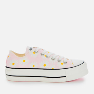 Converse Women's Chuck Taylor All Star Lift Ox Trainers - Pink/White/Black