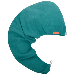 Aquis 单色奢华款干发帽 | 青色