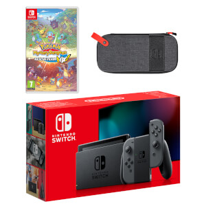 Nintendo Switch (Grey) Pokémon Mystery Dungeon: Rescue Team DX Pack