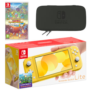 Nintendo Switch Lite (Yellow) Pokémon Mystery Dungeon Rescue Team DX Pack
