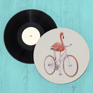 Flamingo Bike Slip Mat