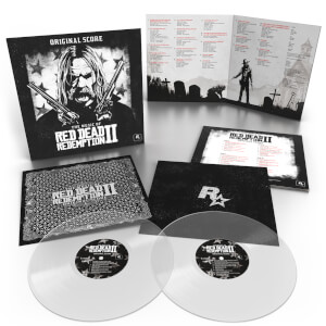 Invada - The Music of Red Dead Redemption 2 (Original Score) 2x Clear LP