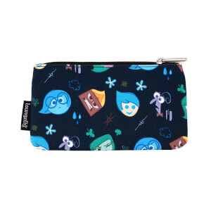 Loungefly Disney Pixar Inside Out Emotions Heads Nylon Pouch