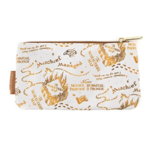 Loungefly Harry Potter Marauders Map Aop Nylon Pouch