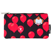 Loungefly It Heart Derry Balloons Nylon Pouch