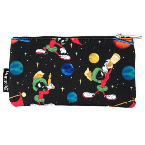 Loungefly Looney Tunes Marvin The Martian Space Aop Pouch