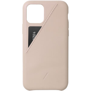 Native Union Clic Card iPhone Case - Nude