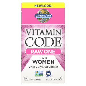Vitamin Code Raw One Femmes - 30 Capsules