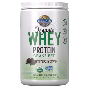 Organic Grass Fed Whey - Chocolate - 396g