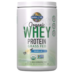 Органический протеин Organic Grass Fed Whey - Ваниль - 379г