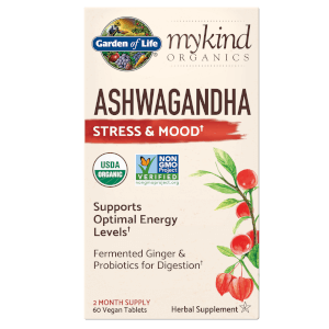 mykind Organics Herbal Ashwagandha - 60 Tablets