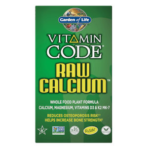 Витаминный комплекс с кальцием Vitamin Code Raw Calcium — 120 капсул
