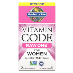 Vitamin Code Raw One Femmes - 75 Capsules