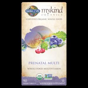 Multivitamines Prénatales mykind Organics - 90 comprimés à croquer