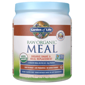 Garden of Life Raw Organic Meal Vanilla Spiced Chai 454g Powder