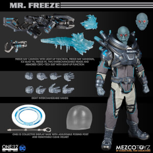 Mezco One: 12 Collective DC Comics Mr Freeze Deluxe Action Figure