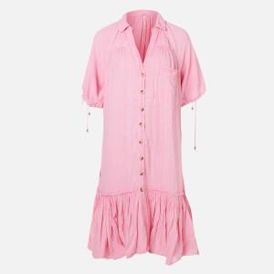 Free People Women's Maya Shirt Dress - Pink