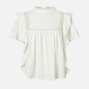Free People Women's Le Femme T-Shirt - Ivory