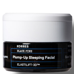 KORRES Black Pine Plump-Up Sleeping Facial 40ml