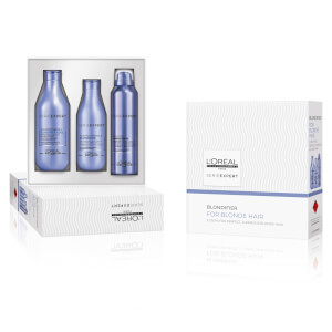 L'Oréal Professionnel Serie Expert Blondifier Trio Pack (Worth $89)