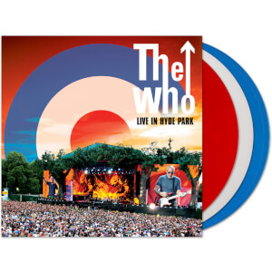 The Who – Live At Hyde Park Red/White/Blue LP Set