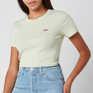 Levi's Women's Short Sleeve Rib Baby T-Shirt - Bok Choy